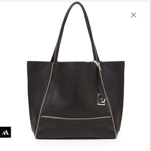 ✨ Botkier SOHO black tote with gold interior…